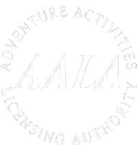 Licensed by The Adventure Activities Licensing Authority